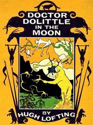 cover image of Doctor Dolittle in the Moon