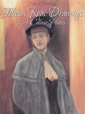 cover image of Felicien Rops--Drawings 104 Colour Plates