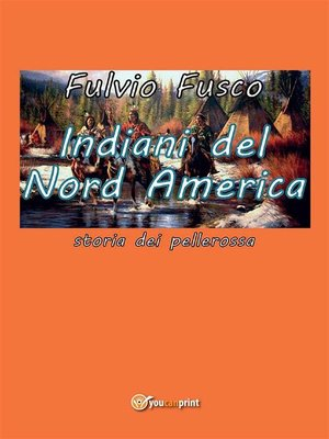 cover image of Indiani del Nord America