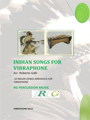 cover image of Indian Songs For Vibraphone