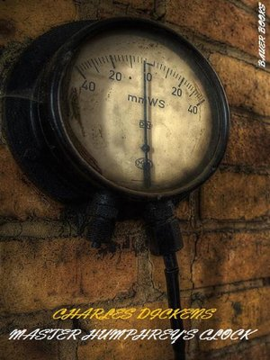cover image of Master Humphrey's Clock (Illustrated)