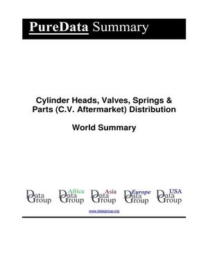 cover image of Cylinder Heads, Valves, Springs & Parts (C.V. Aftermarket) Distribution World Summary