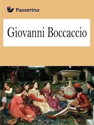cover image of Giovanni Boccaccio