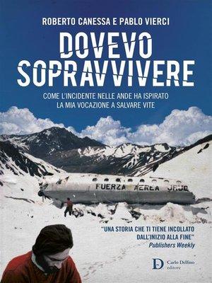 cover image of Dovevo sopravvivere