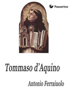 cover image of Tommaso d'Aquino