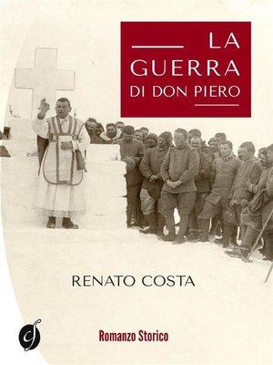 cover image of La guerra di don Piero