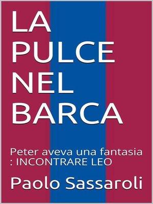 cover image of La Pulce nel Barca