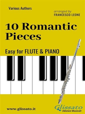 cover image of 10 Romantic Pieces--Easy for Flute and Piano