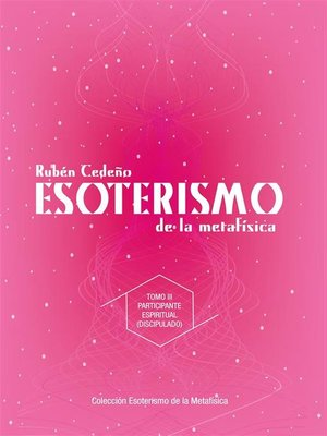cover image of Esoterismo de la Metafisica--Participante Espiritual