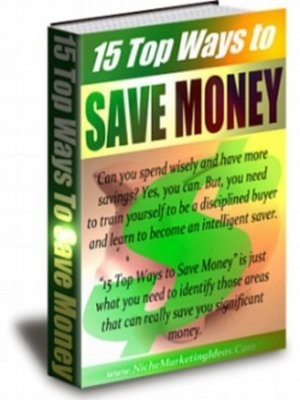 cover image of 15 Top Ways to Save Money