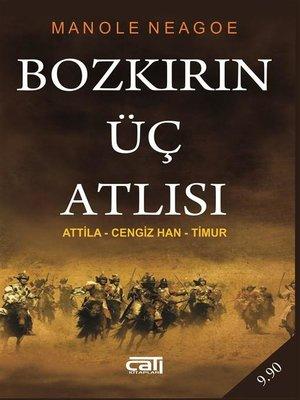 cover image of Bozkırın Üç Atlısı