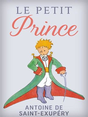 cover image of Le Petit Prince