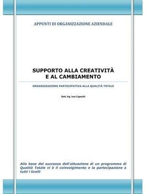 cover image of Supporto alla creatività e al cambiamento