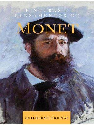 cover image of Pinturas e pensamentos de Monet
