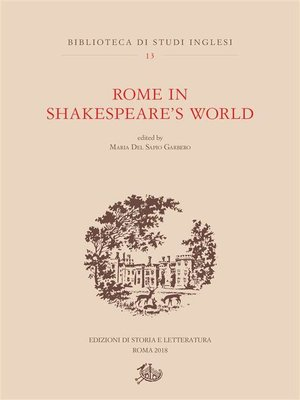 cover image of Rome in Shakespeare's World
