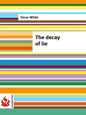 cover image of The decay of lie (low cost). Limited edition