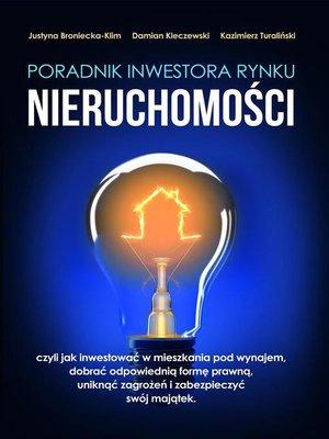 cover image of Poradnik inwestora rynku nieruchomości