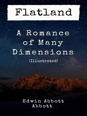 cover image of Flatland--A Romance of Many Dimensions (Illustrated)