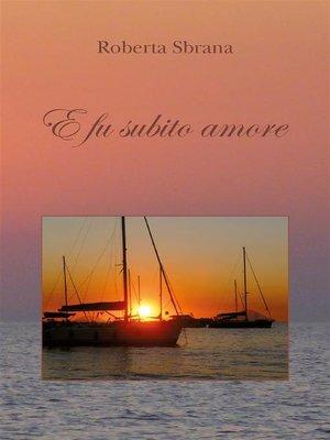 cover image of E fu subito amore