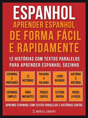 cover image of Espanhol--Aprender espanhol de forma fácil e rapidamente (Vol 1)