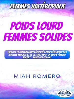 cover image of Haltérophilie Pour Femmes--Poids Lourds Femmes Dures