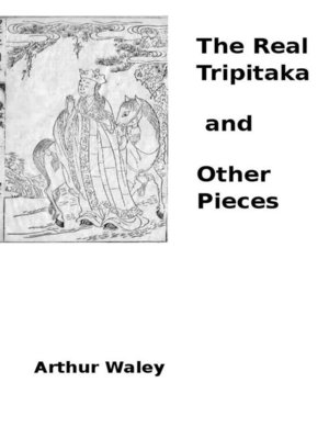 cover image of The Real Tripitaka and Other Pieces