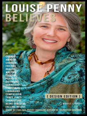 cover image of Louise Penny Believes--Louise Penny Quotes and Believes [Design Edition]