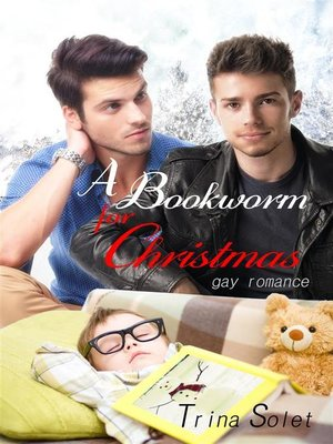 cover image of A Bookworm for Christmas--Gay Romance