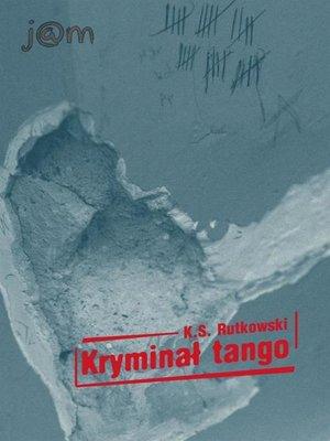 cover image of Kryminał tango