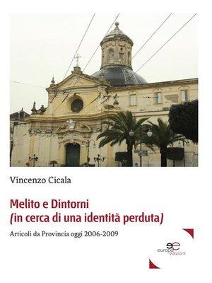 cover image of Melito e Dintorni