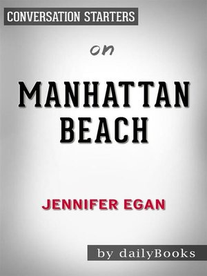 cover image of Manhattan Beach--by Jennifer Egan