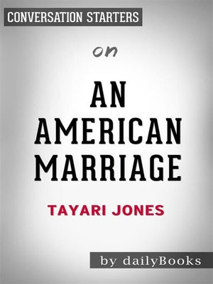 cover image of An American Marriage--by Tayari Jones