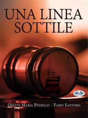 cover image of Una Linea Sottile