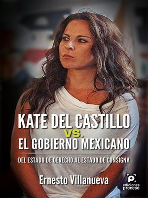 cover image of Kate del Castillo vs. el gobierno mexicano.