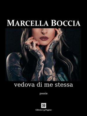 cover image of Vedova di me stessa