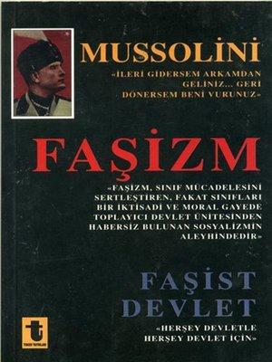 cover image of Faşizm Faşist Devlet