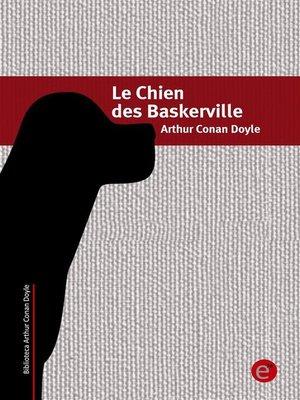 cover image of Le chien des Baskerviille