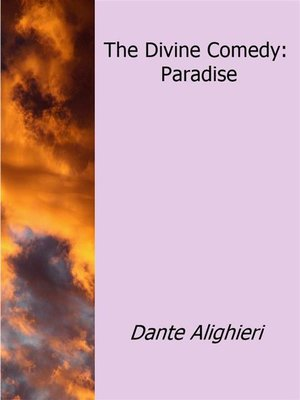 cover image of The Divine Comedy--Paradise