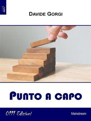 cover image of Punto a capo