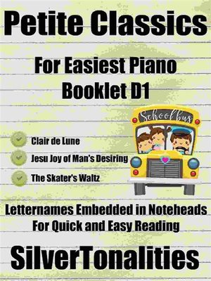 cover image of Petite Classics for Easiest Piano Booklet D1