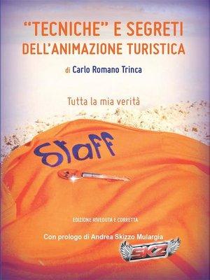"""cover image of """"Tecniche"""" e Segreti dell'Animazione Turistica"""
