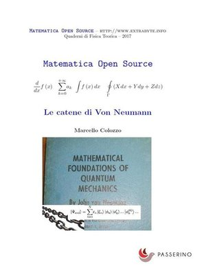 cover image of Le catene di Von Neumann
