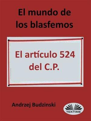 cover image of El Mundo De Los Blasfemos