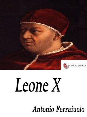 cover image of Leone X