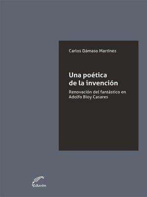 cover image of Una poética de la invención