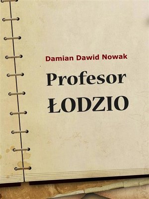 cover image of Profesor Łodzio