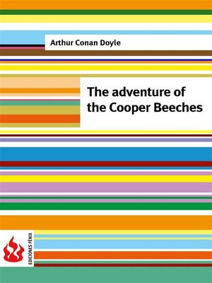 cover image of The adventure of the Cooper Beeches (low cost). Limited edition