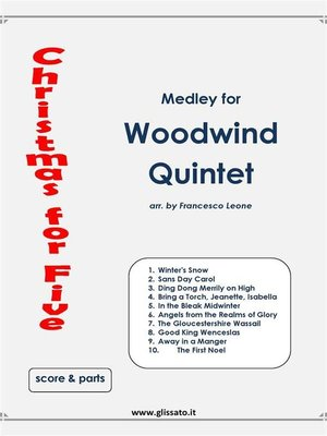 cover image of Christmas for Five--Woodwind Quintet
