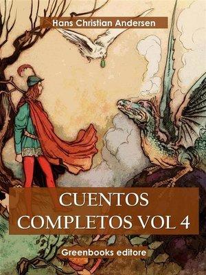 cover image of Cuentos completos Vol 4