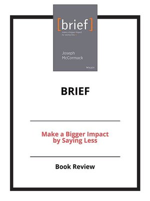 cover image of Brief